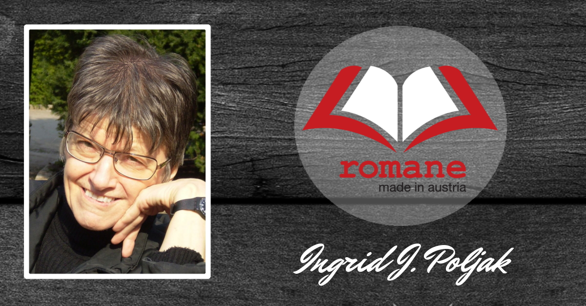 Romane made in Austria Banner - Autorin Ingrid J. Poljak
