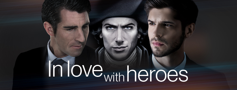 Banner In Love with heros